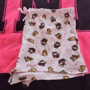 NWOT Lion King pajama Shorts